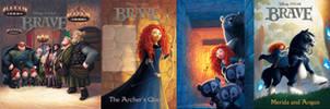 Pixar's Brave covers