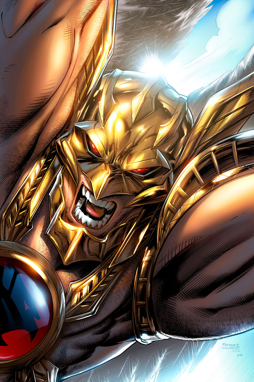 Savage Hawkman by JPRart