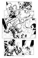 Scarlet Spider 10 pg11 Inks by JPRart