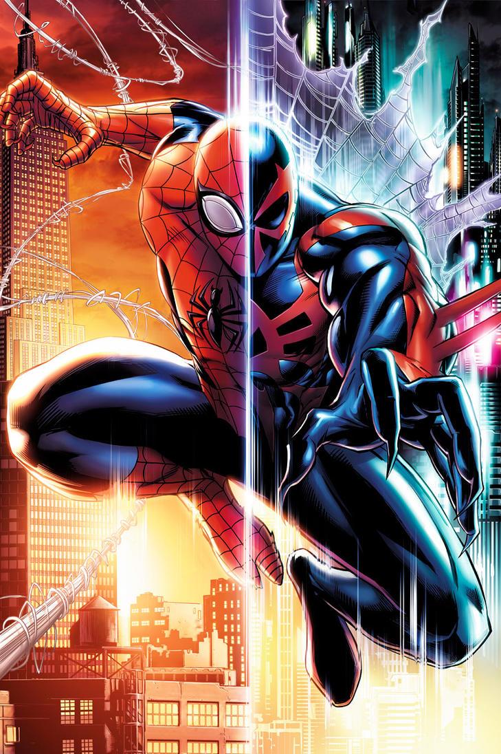 Superior Spider-Man by JPRart on DeviantArt