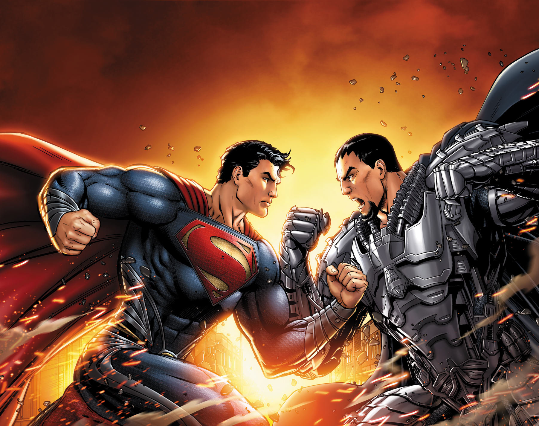 Man of Steel: Superman saves Smallville