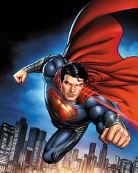 Man of Steel: Superpowers by JPRart