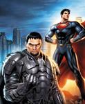 Man of Steel: Friends/Foes