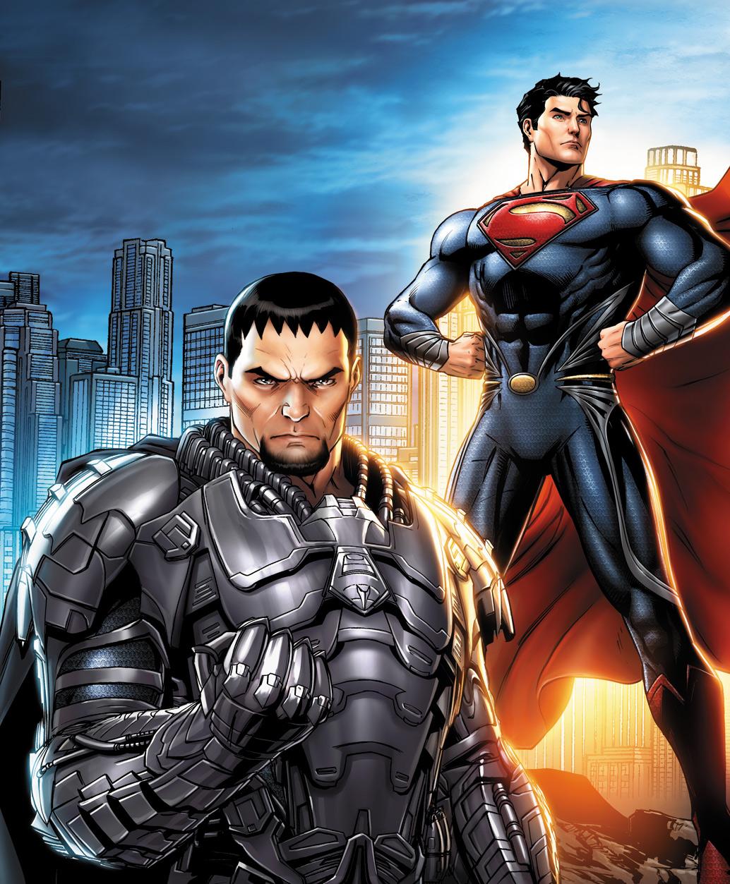 Man of Steel: Friends/Foes by JPRart