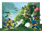 X-Men origins 36-37