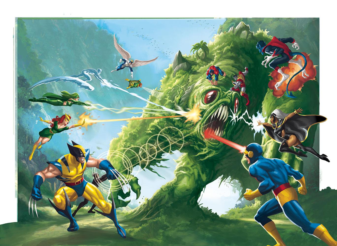 X-Men origins 36-37 by JPRart