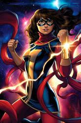 All-New Ms Marvel by JPRart
