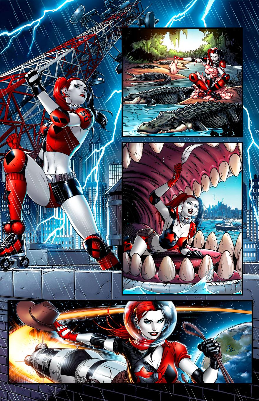Harley Quinn#0 pg15 by JPRart