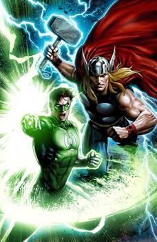 Thor-GL Hal Jordan