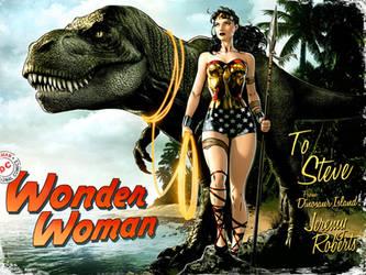 Wonder Woman Dinosaur Island