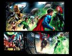 Justice League pages 3
