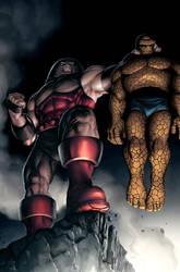 Thing vs Juggernaut