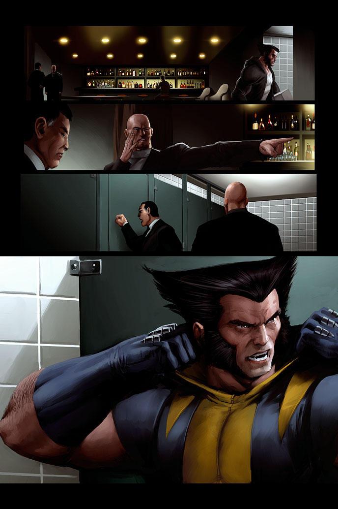 Wolverine page 5 by JPRart