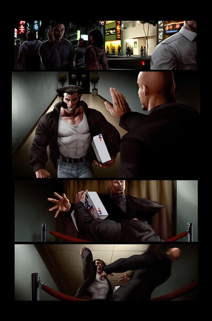 Wolverine page 4 by JPRart