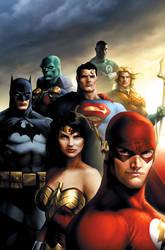 Justice League by JPRart