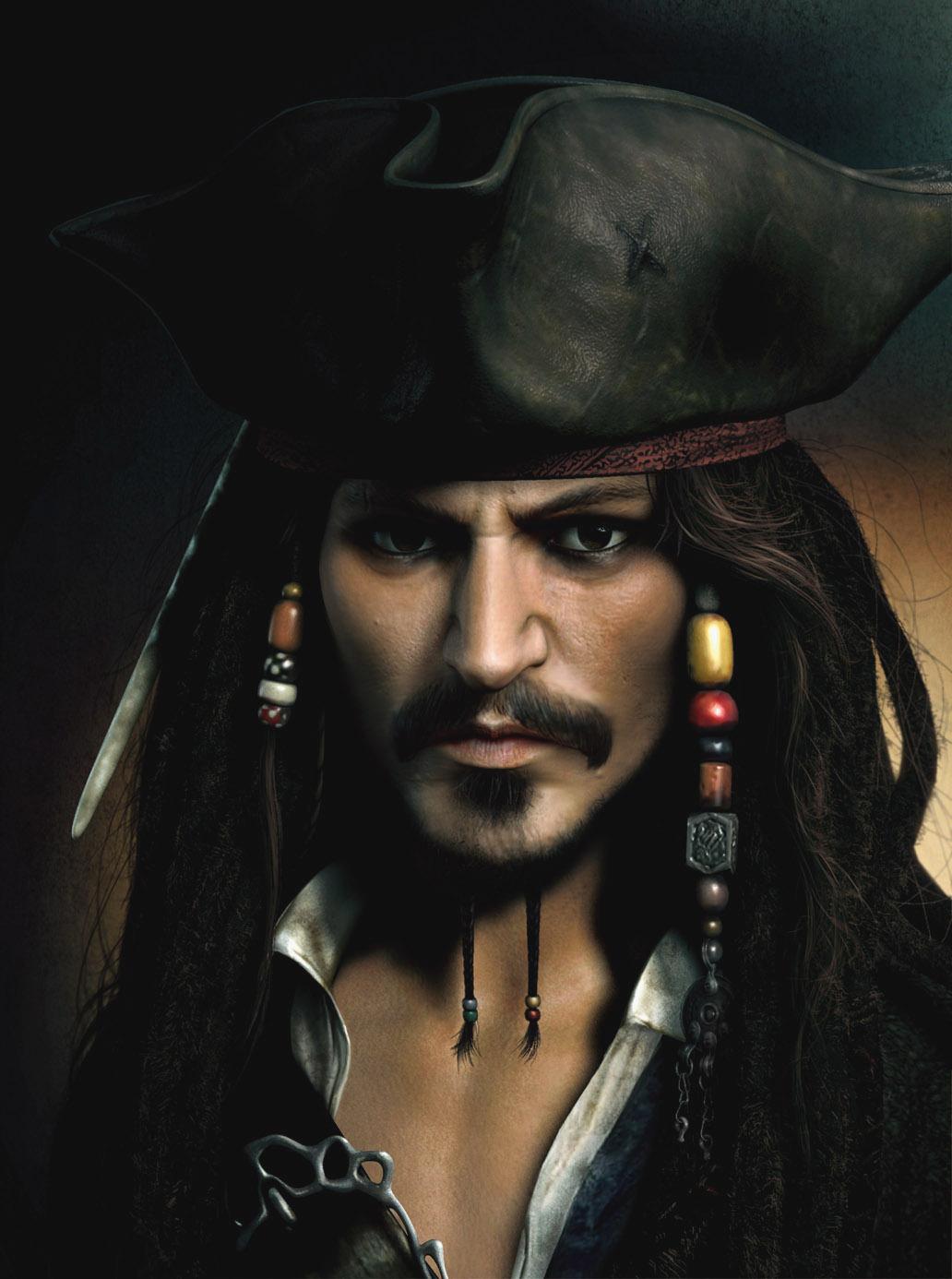 Captain Jack Sparrow by JPRart