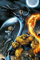 Fantastic Four by JPRart