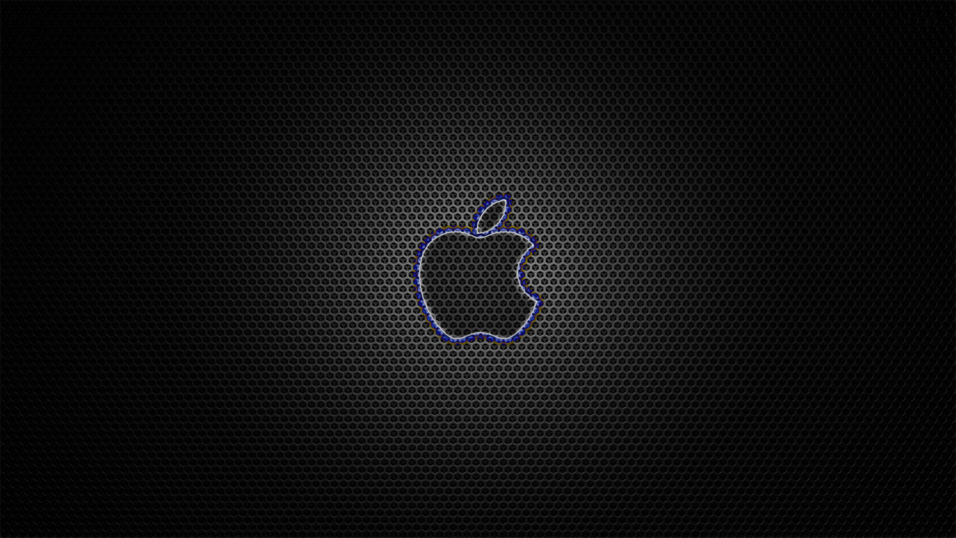 Apple Background Carbon Fiber HD By HarriePatemanDesigns