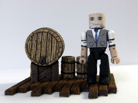 Lost Girl Trick Minimate action figure by Brashsculptor