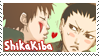 ShikaKiba stamp by sonteen12