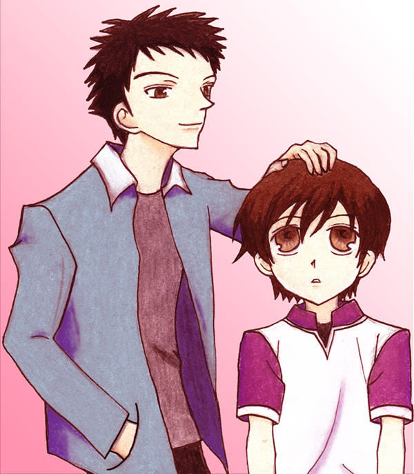 Mori and Haruhi by sonteen12