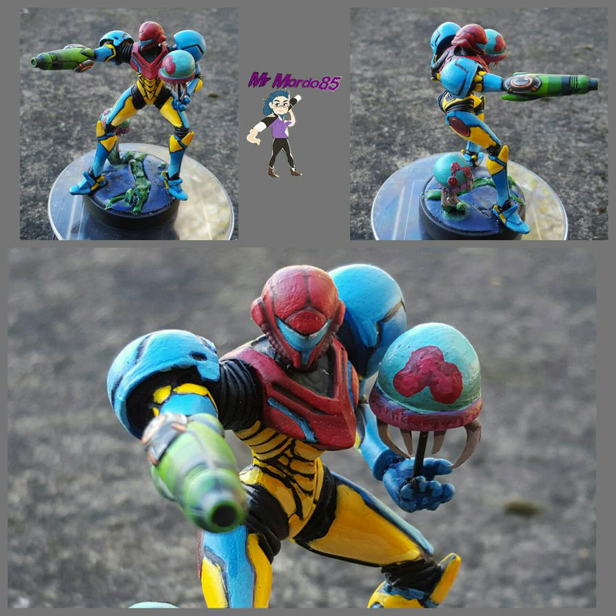 Fusion Suit Samus Amiibo By MrMordo85 On DeviantArt