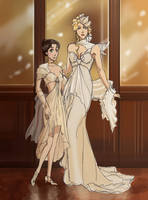 IsaMira Going to the Christmas Ball by StrawberryLoveU