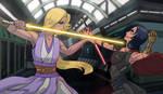 IsaMira Jedi vs Sith by StrawberryLoveU