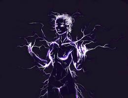 Lightning Elemental by Vij-8