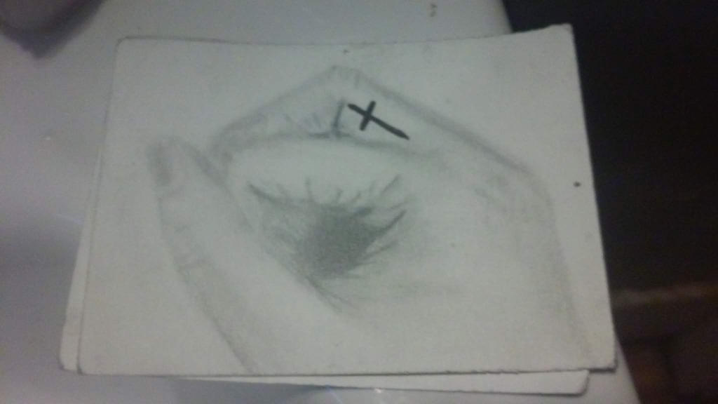 old drawing of my hand by ButHeichouuuuuuuuu