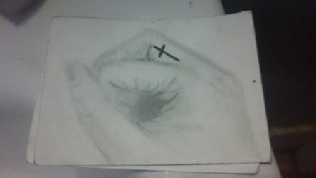 old drawing of my hand