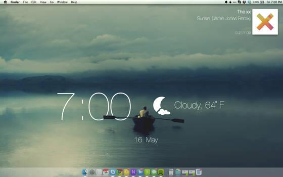 Calm Lake Desktop