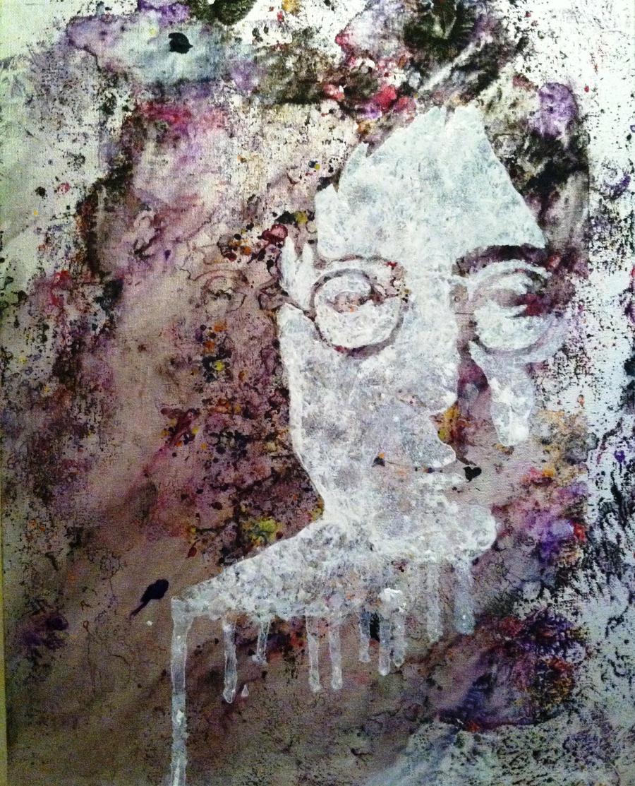 John Lennon Abstract3 by khrysta