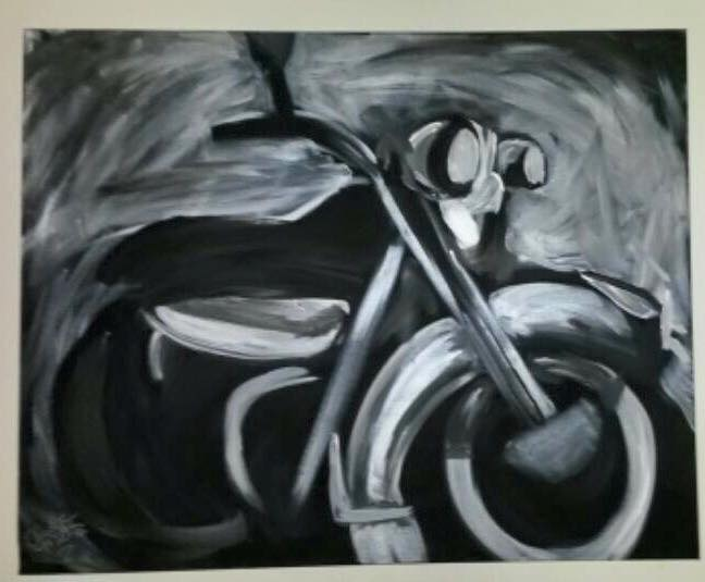Abstract Motorcycle by khrysta