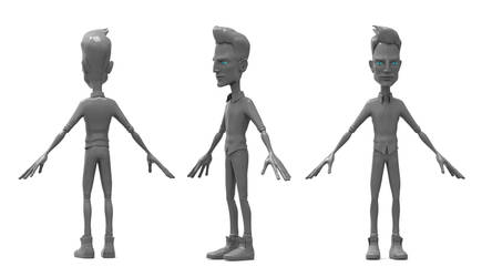Cartoon Character for animation