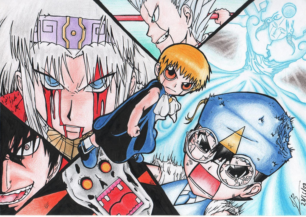 Zatch Bell Zeno Wallpaper 56504 Infobit