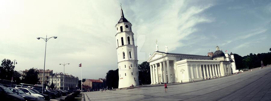 Piotr and Pawel in Vilnius