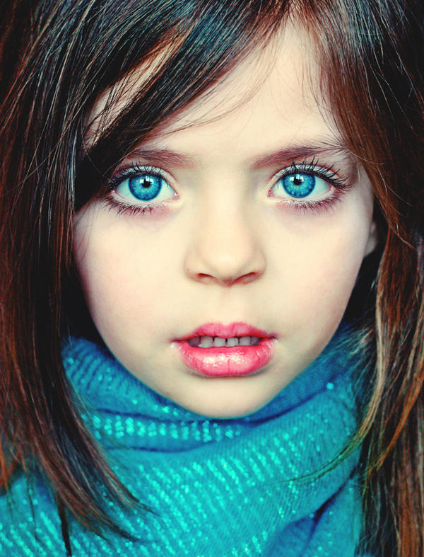 baby blue eyes by meyrembulucek