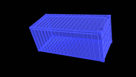 Blender 2.79 : shipping container x-ray