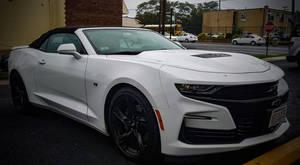 White and Black 2019 Camaro SS