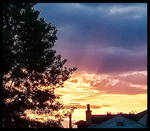 Sunrise Light Bursts Forth
