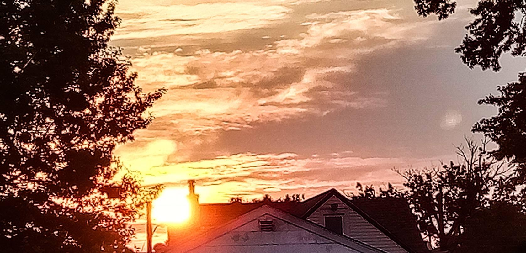 Brilliant Sun Rise