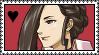 Stamp: Hakari Mikagami by KyokiNoRozu