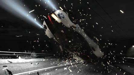 Crashed... by CarbonRDSJ