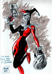 Harley with Markers by JavierMena