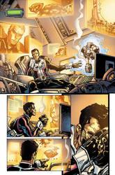 Legion Of SuperHeroes 5 page3 by JavierMena