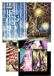 Legion Of SuperHeroes 5 page6 by JavierMena