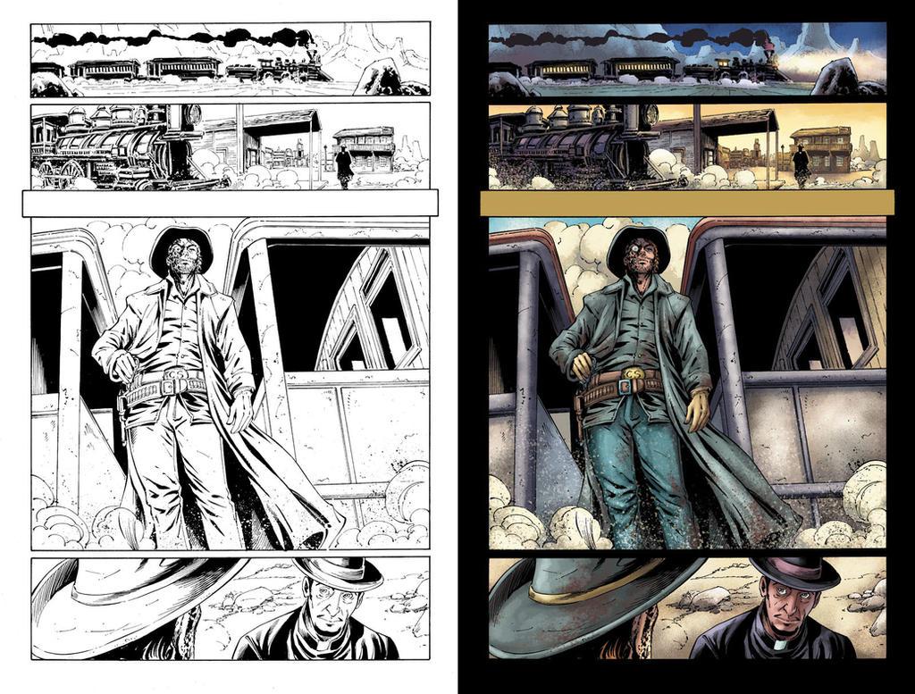 All-Star Western #26 page 7 by JavierMena