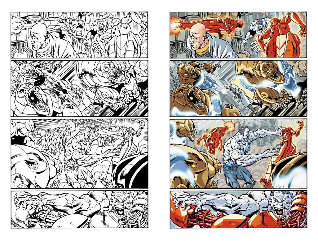 Bizarro #1 page 13 by JavierMena