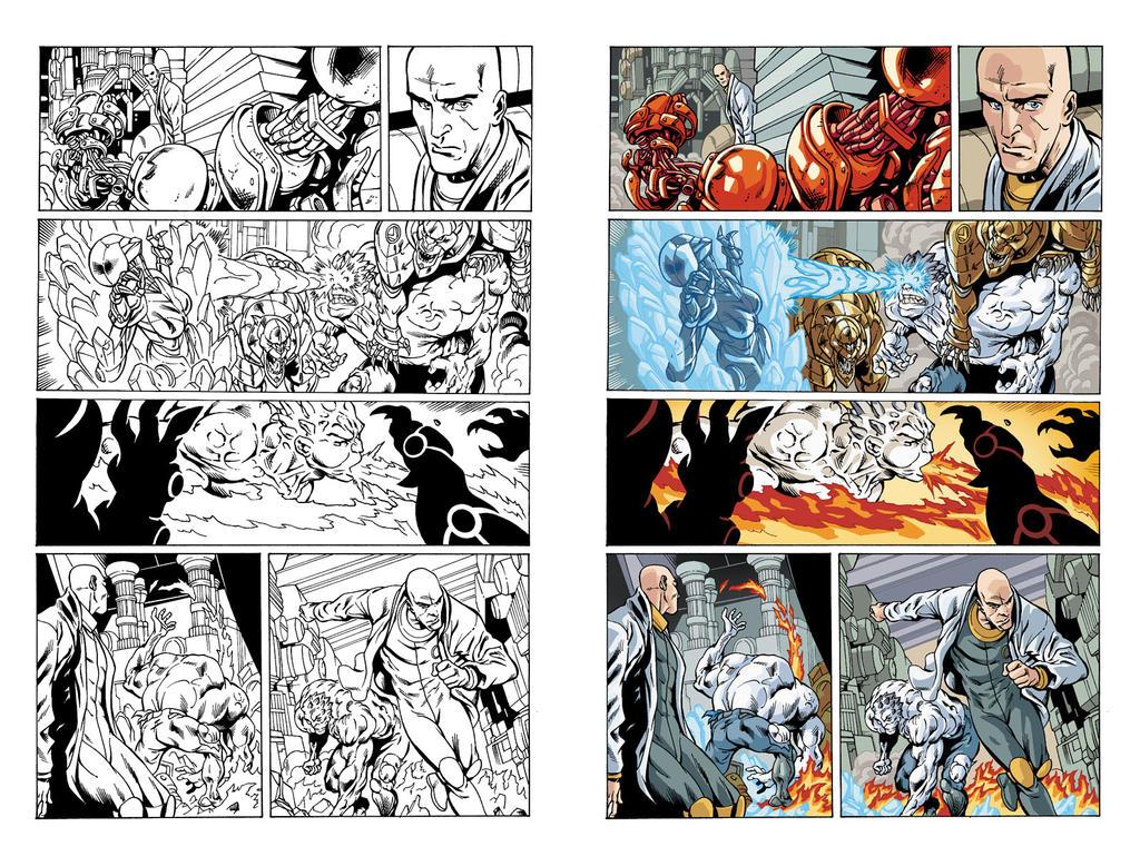 Bizarro #1 page 14 by JavierMena